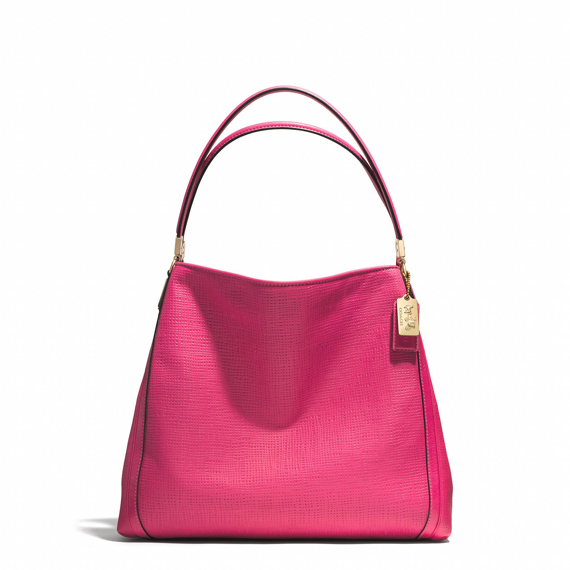 ... where to buy coach madison small phoebe shoulder bag in embossed leather  29ec9 66aec de65c09552