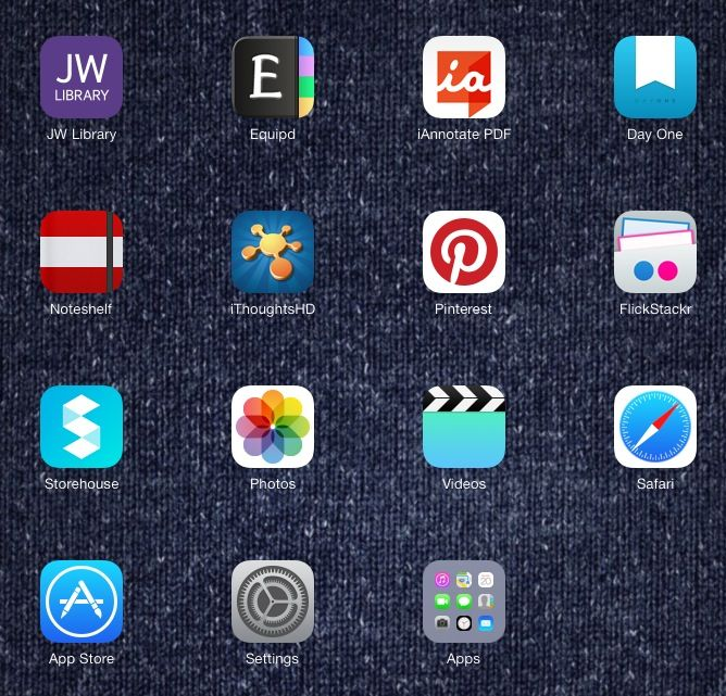 My iPad Best apps in the whole world! Jw library