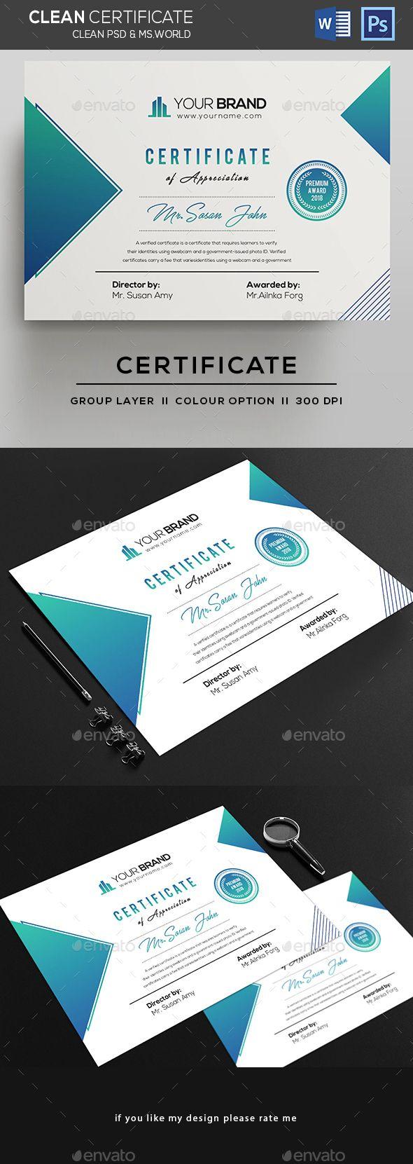 Tolle Zertifikatvorlage Psd Zeitgenössisch - Entry Level Resume ...