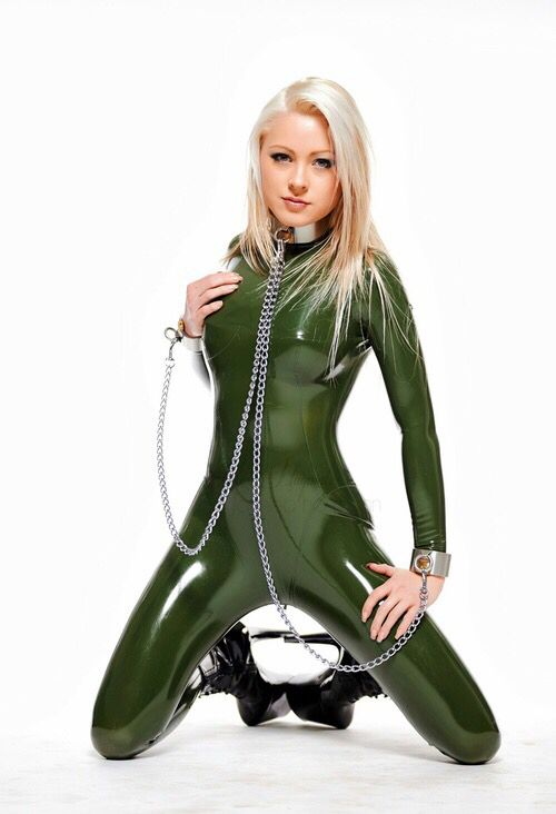 girls wearing latex