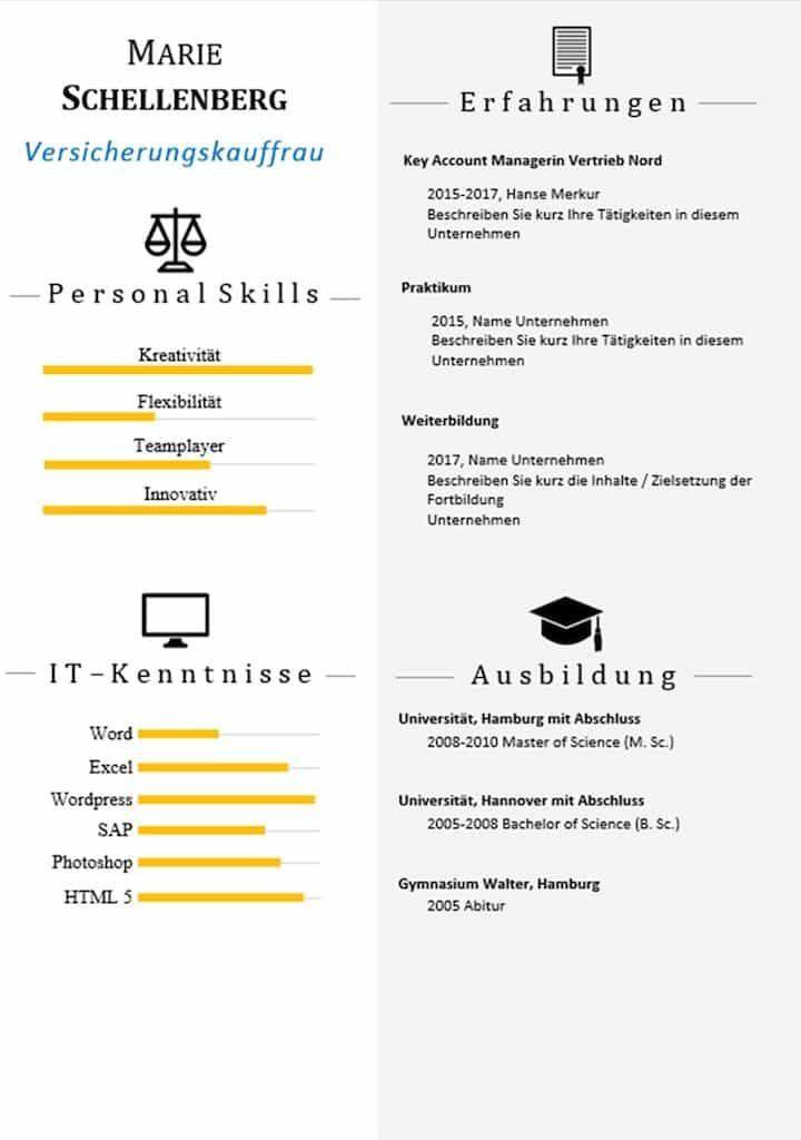Beste Lebenslauf Vorlage Ersten Job Gymnasium Galerie - Entry Level ...