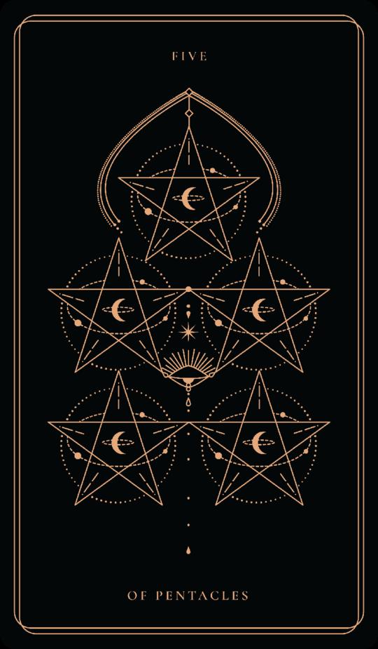 Five Of Pentacles Soul Cards Pentacles Tarot Pentacle