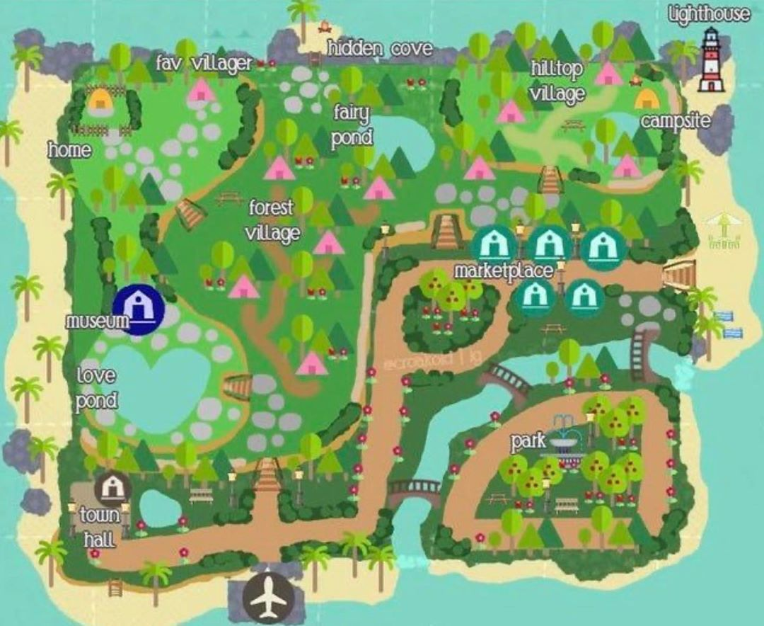 18++ Animal crossing new horizons map template ideas