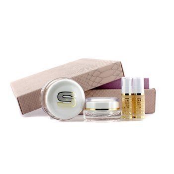 AntiAge Prestige Kit Sisleya Global AntiAge Cream 50mlSisleya Eye  Lips Contour Cream 15mlSisleya Elixir 5ml -- Click image to review more details.
