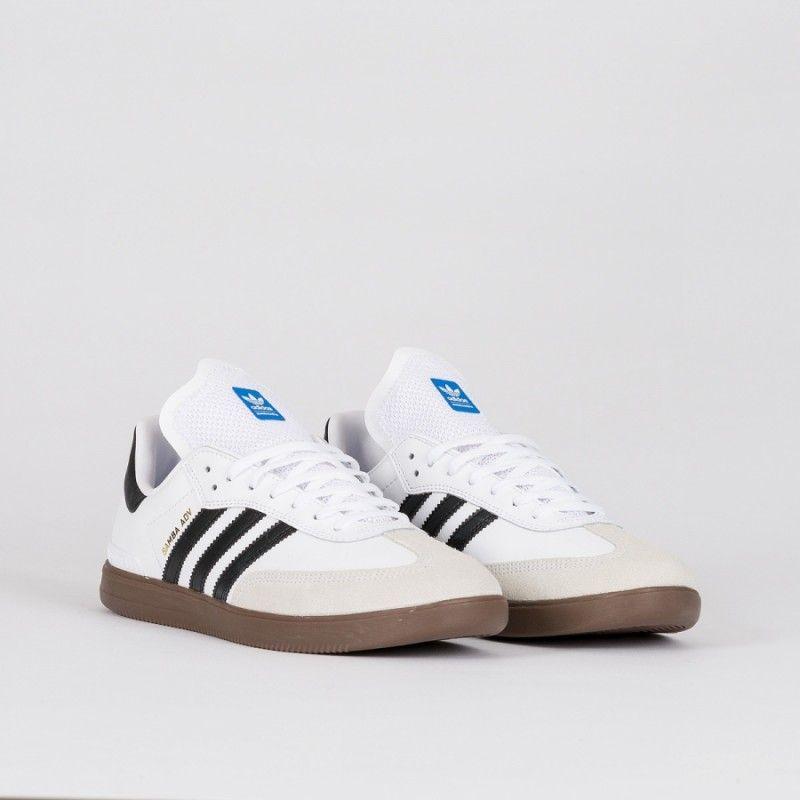 adidas samba adv white black 8e9edad gum shoes 1726d5cd - bidazle.com 44dbf8099
