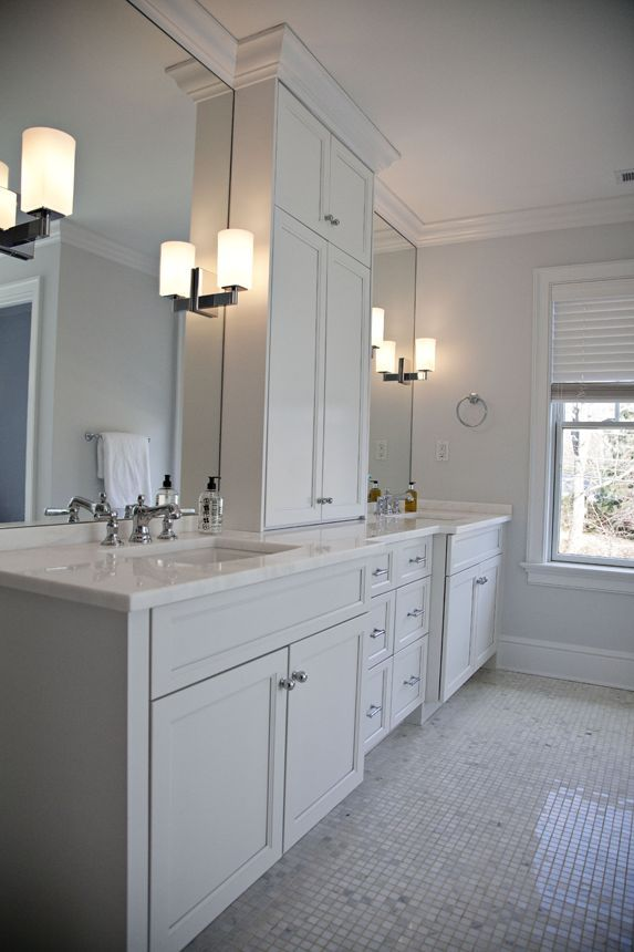 Vanity Lights Mounted On Mirror Google Search Bathroom Design