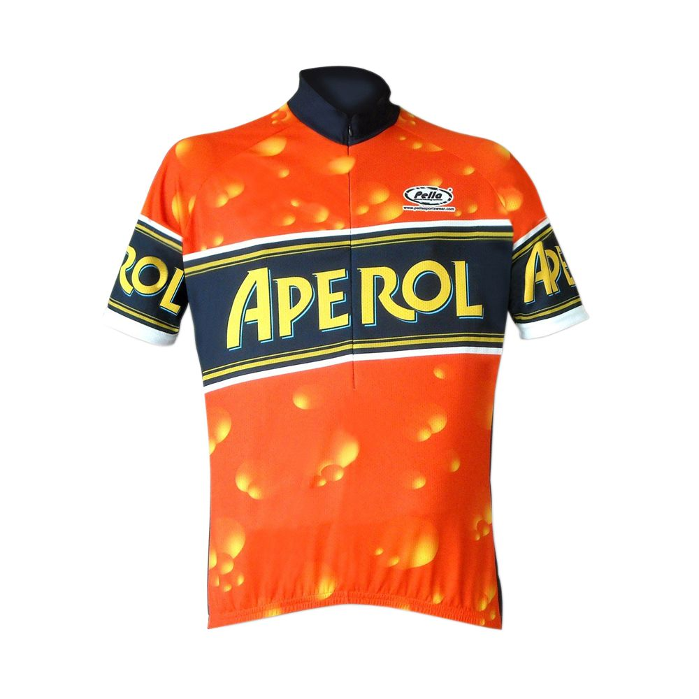 Aperol Short Sleeve Cycling Jersey  aperol  spritz  cycling  jersey ... 39dbdbda8