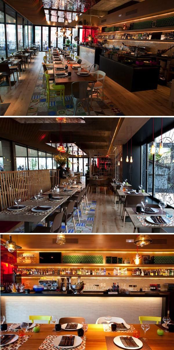 La Cocina De San Anton Madrid Restaurante Terraza Terrazas Restaurantes