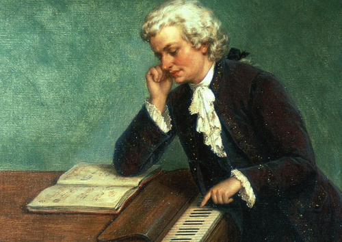 Austrian composer Wolfgang Amadeus Mozart, one of the greatest composers who ever lived, only lived to the age of 35.