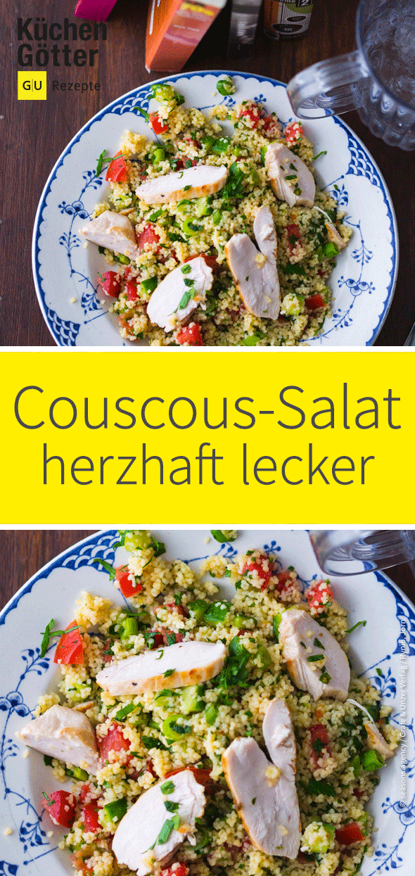 Photo of Couscous-Salat mit Hähnchen