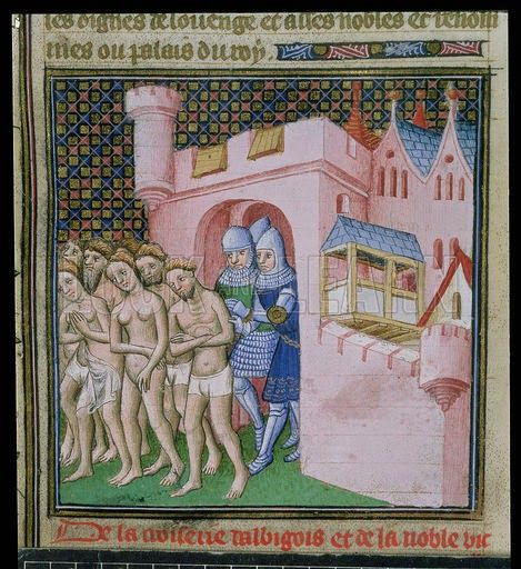 Expulsion of Albigensians from Carcassonne. Mystery of History Volume 2, Lesson 58 #MOHII58