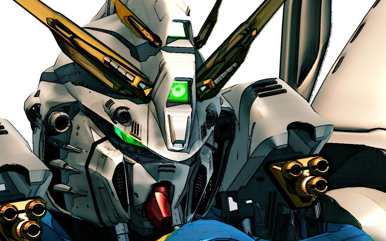 Robo Staring Mean Gundam Canvas Apapunitu Pinterest Gundam