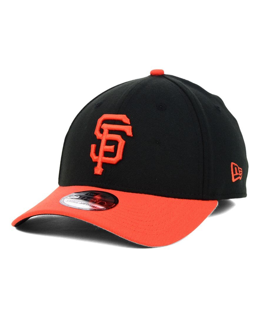 New Era San Francisco Giants Mlb Team Classic 39THIRTY Cap Équipes Mlb 3d90e672c5fb