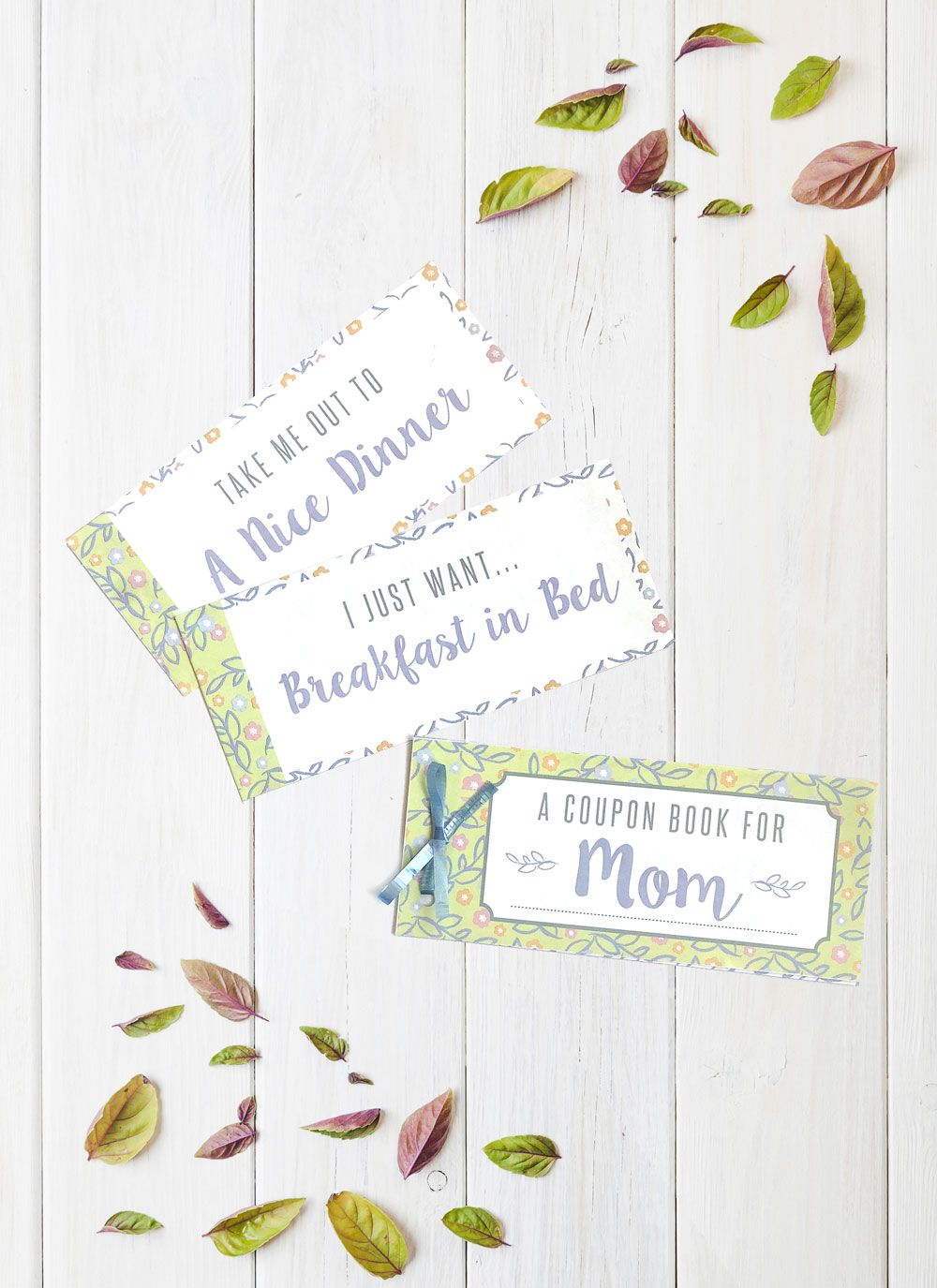 make your own mother u0026 39 s day coupon book printable