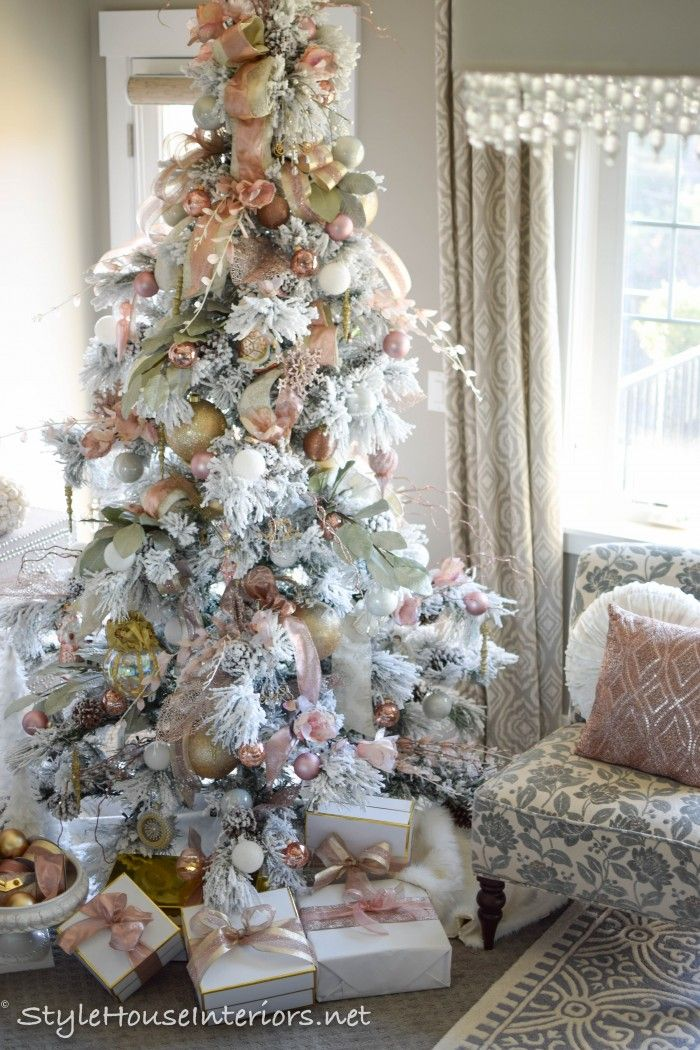 Christmas Time Is My Favorite Time Of Year Each Year I Count Down The Days Until I Can Put Up My T Pink Christmas Tree Pink Christmas Vintage Christmas Lights