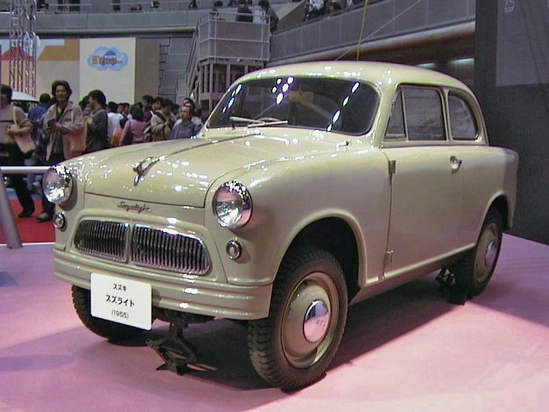 Suzuki Suzulight – 1955 | SUZUKI CAR MODELS | Pinterest | Cars, Kei ...