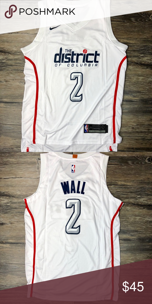 3e8b79753 John Wall Washington Wizards City Jersey Small Brand New w Tags Men s Size  Small John Wall  2 Washington Wizards City Edition Nike Shirts Tank Tops