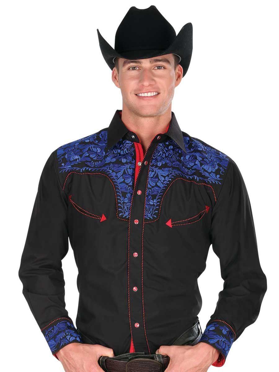 33142 Camisa Vaquera Caballero El Senor De Los Cielos fb6d7074b18c6