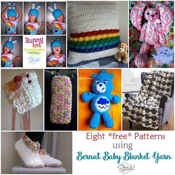 8 free crochet patterns that use bernat baby blanket yarn 8 free crochet patterns that use bernat baby blanket yarn stitch11 fandeluxe Gallery