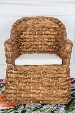 Woven Seagrass Chair We Make Furniture Accent Chairs Living