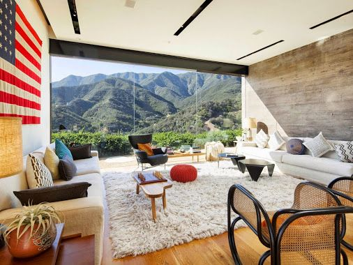 Such a cozy room with a view to die for! (With images ...