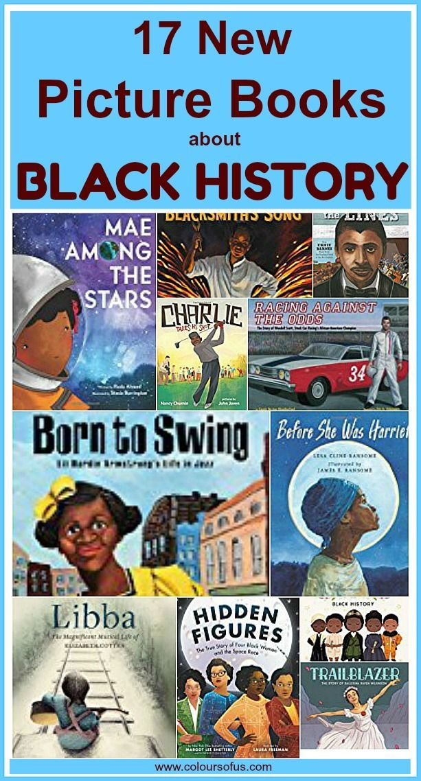 Photo of 17 New Picture Books about Black History | Colours of Us