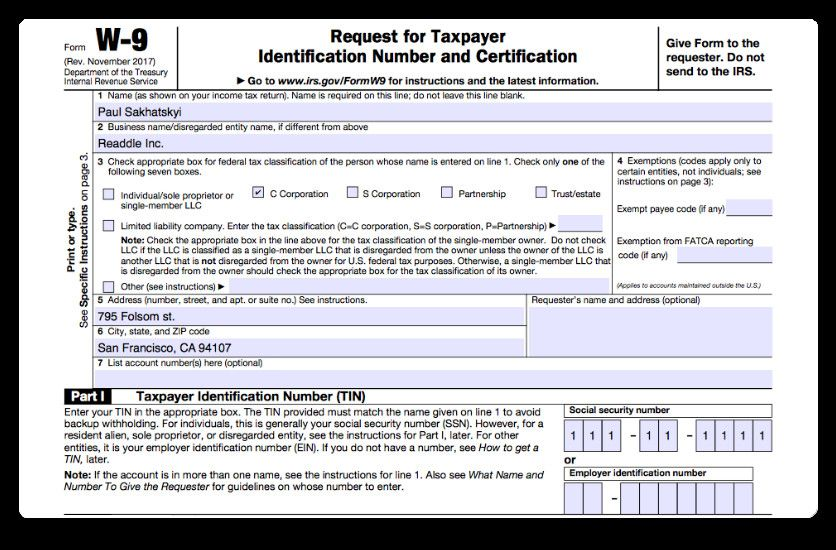 How To Fill Out A W 9 2019 With Irs W9 Form 2021 In 2021 Irs Forms Tax Forms Personal Calendar