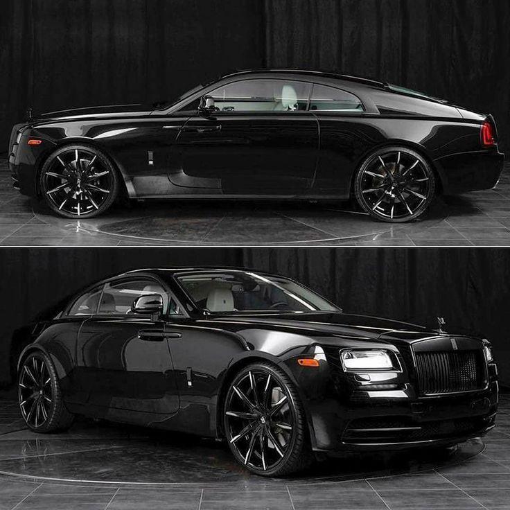 #rolls royce black classic cars #classiccarbritishrollsroyce #rollsroycephotogra…