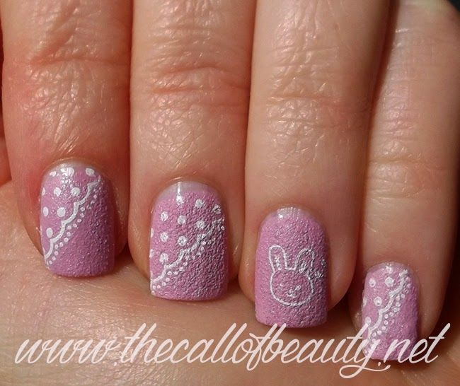 Nail Art of the Day - stamping veloci per Pasqua