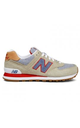 new balance herren sneaker beige ml574pic