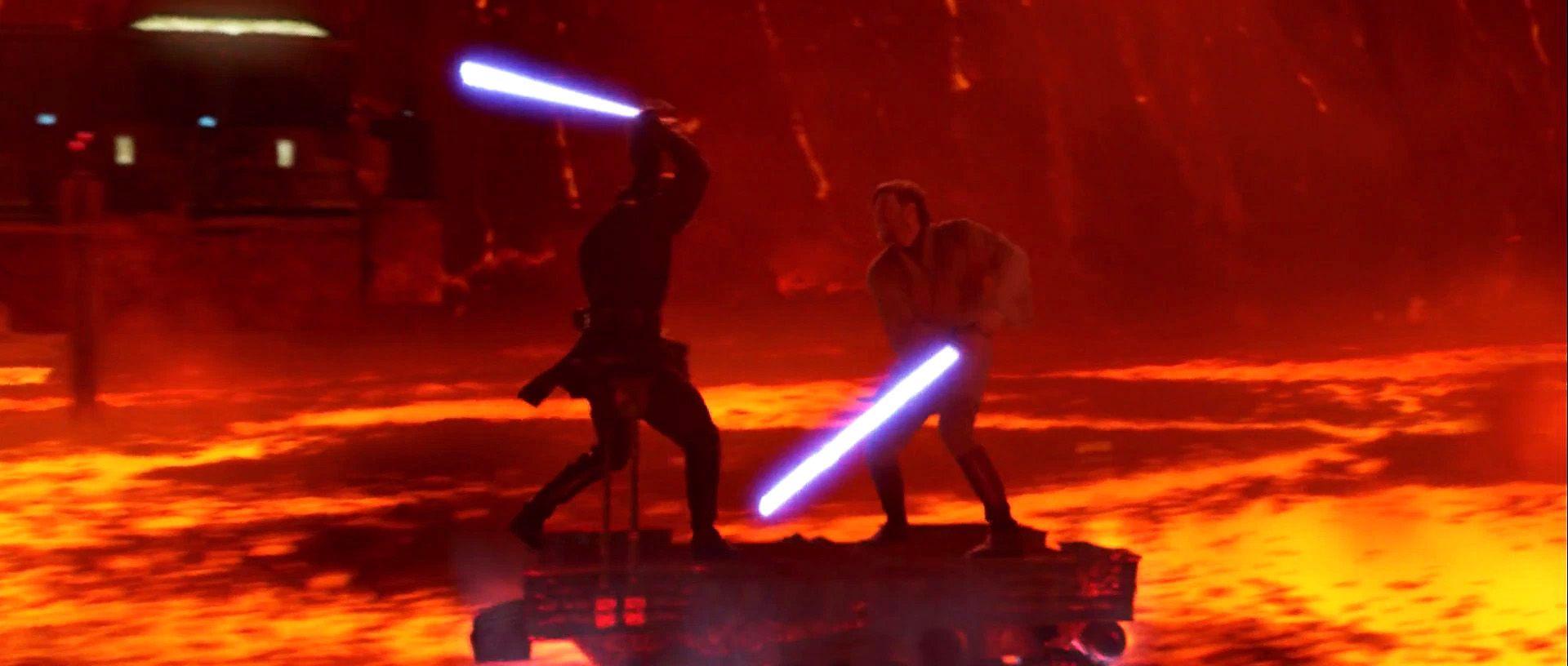 Anakin Vs Obi Wan Wallpaper Star Wars Movies Ranked Obi Wan