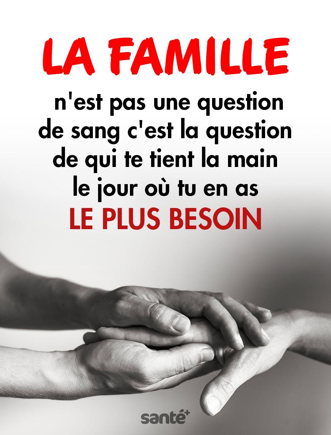 La Famille Nest Pas Une Question De Sang Cest La Question