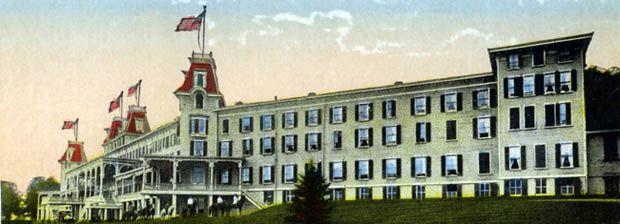 The Grand Hotel In Highmount New York Was On Monka Hill Near Belleayre Ski Mountain