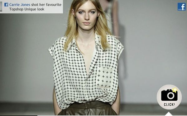 Topshop has crafted a highly social, interactive and customizable live-viewing experience for London Fashion Week.