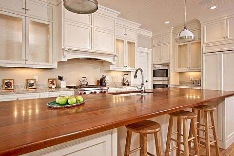 Gorgeous Mahogany Island Kitchen In New Home By Horan Building Offered For Sale By Lila Delman Real Estate In Newp Home Kitchens Kitchen Beautiful Kitchens