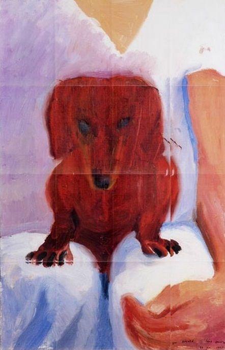 Dachshund Clube - David Hockney