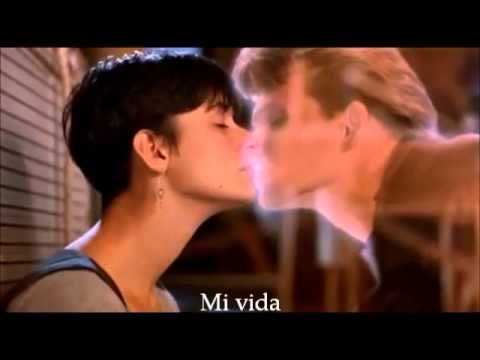 Unchained Melody The Righteous Brothers Subtítulos En Español Ghost Pelicula La Sombra Del Amor Películas De Fantasmas