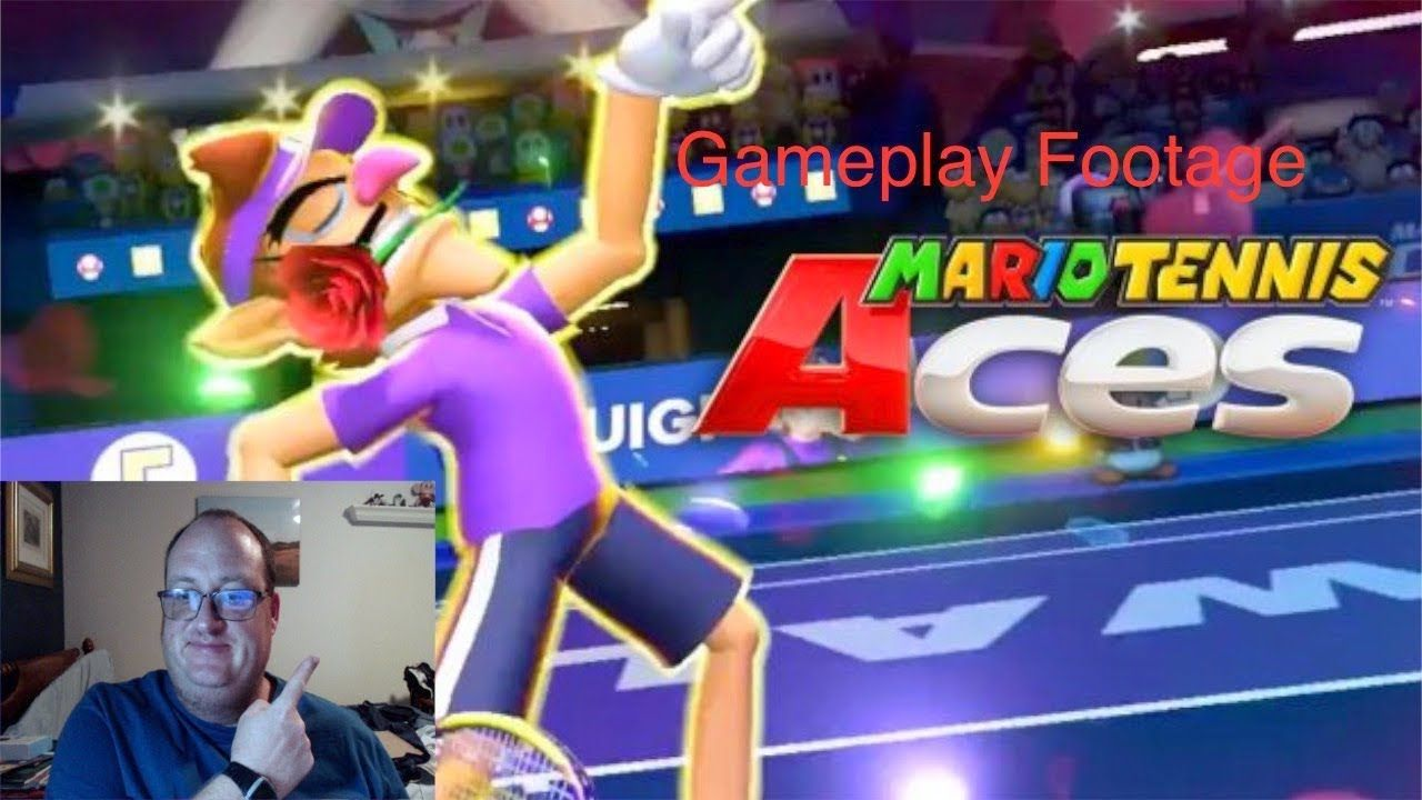 Mario Tennis Aces Gameplay Footage Tennis, Sports games