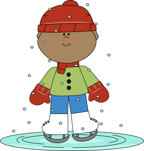 Boy Skating On Ice Clip Art Boy Skating On Ice Image Ice Skating Images Clip Art Cute Clipart