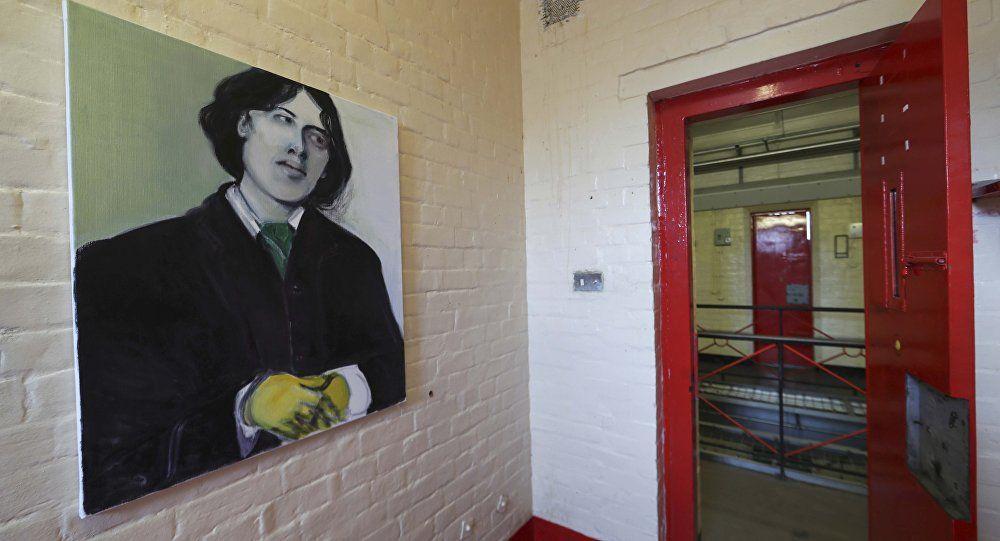 Un retrato de Oscar Wilde en la cárcel de Reading
