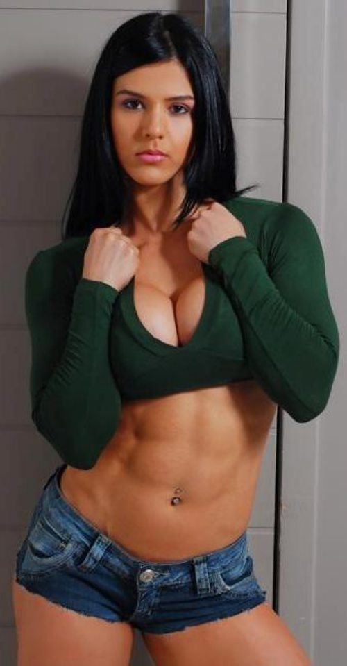 Ladys with awesome abs eva