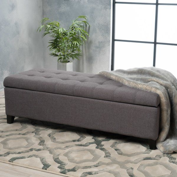 Cool Ledger Tufted Storage Ottoman In 2019 New House Fabric Gmtry Best Dining Table And Chair Ideas Images Gmtryco