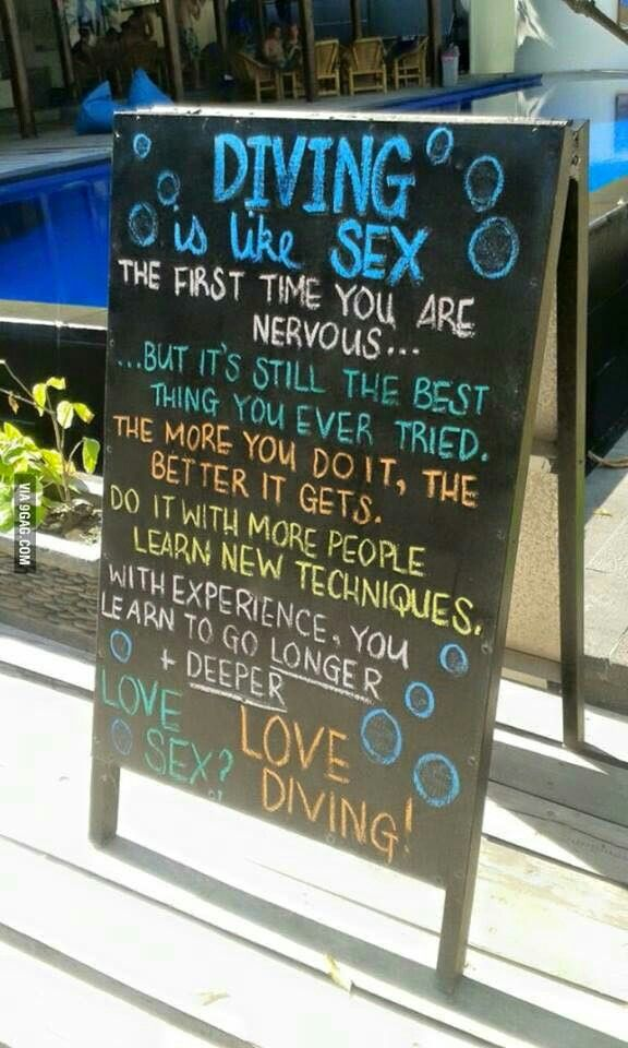 Agree with Diver sex all became