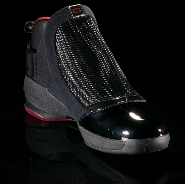 d58b2ae2d2ef Air Jordan 19 (XIX) Original (OG) - Black   Chrome - Varsity Red ...