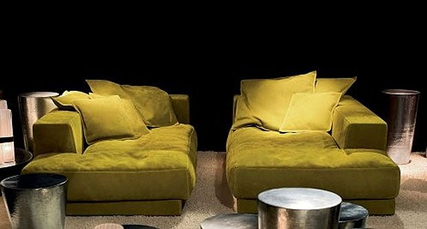 BAXTER - Dormeuse Budapest Houses\Interiors\Landscape - designer moebel weiss baxter