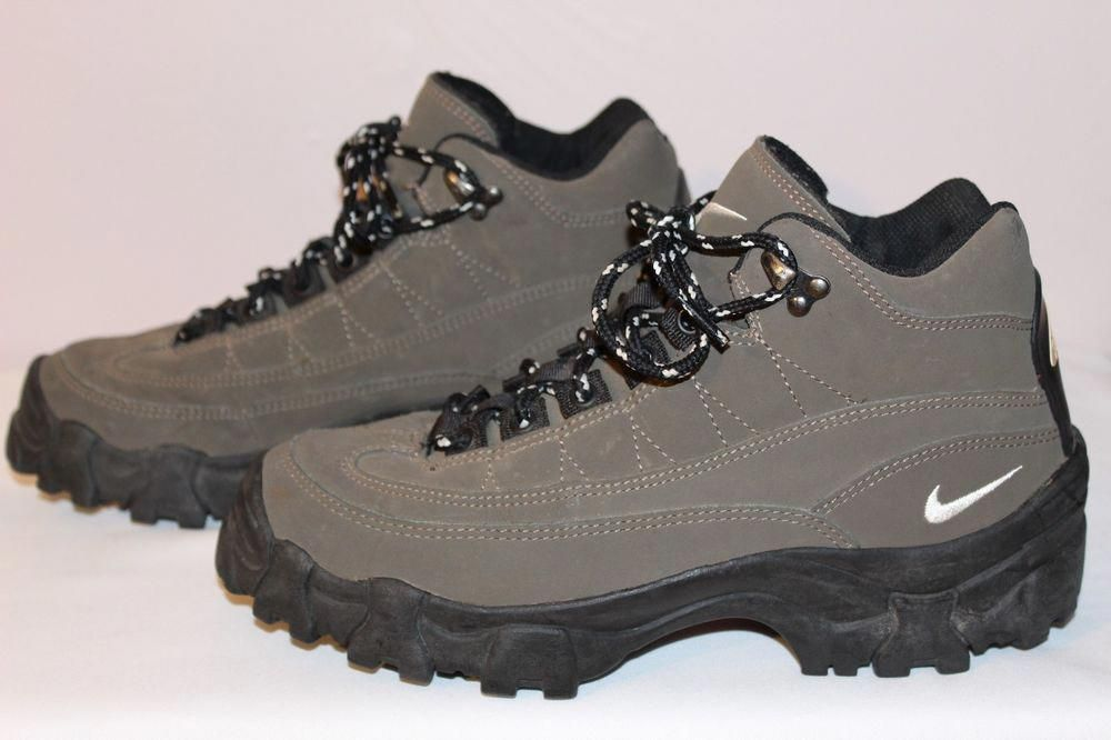check out 9f577 02fcb Nike Air 980709 Regrind ACG Brown Trail Compound Mens Hiking Boots size 8.5  GUC  Nike  AnkleBoots  hikingbootsideas