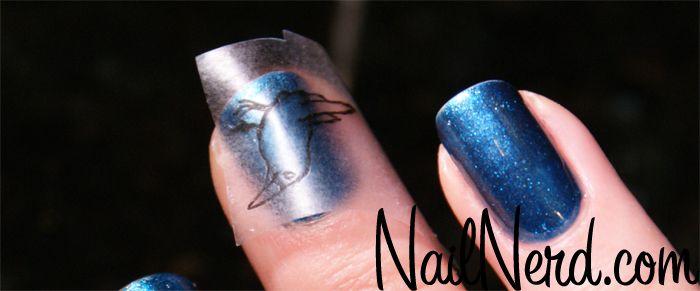 DIY Nail Decal PoePalooza Macabre Madness Pinterest Nail - How to make nail decals at homemake nail art stickers home nail art ideas