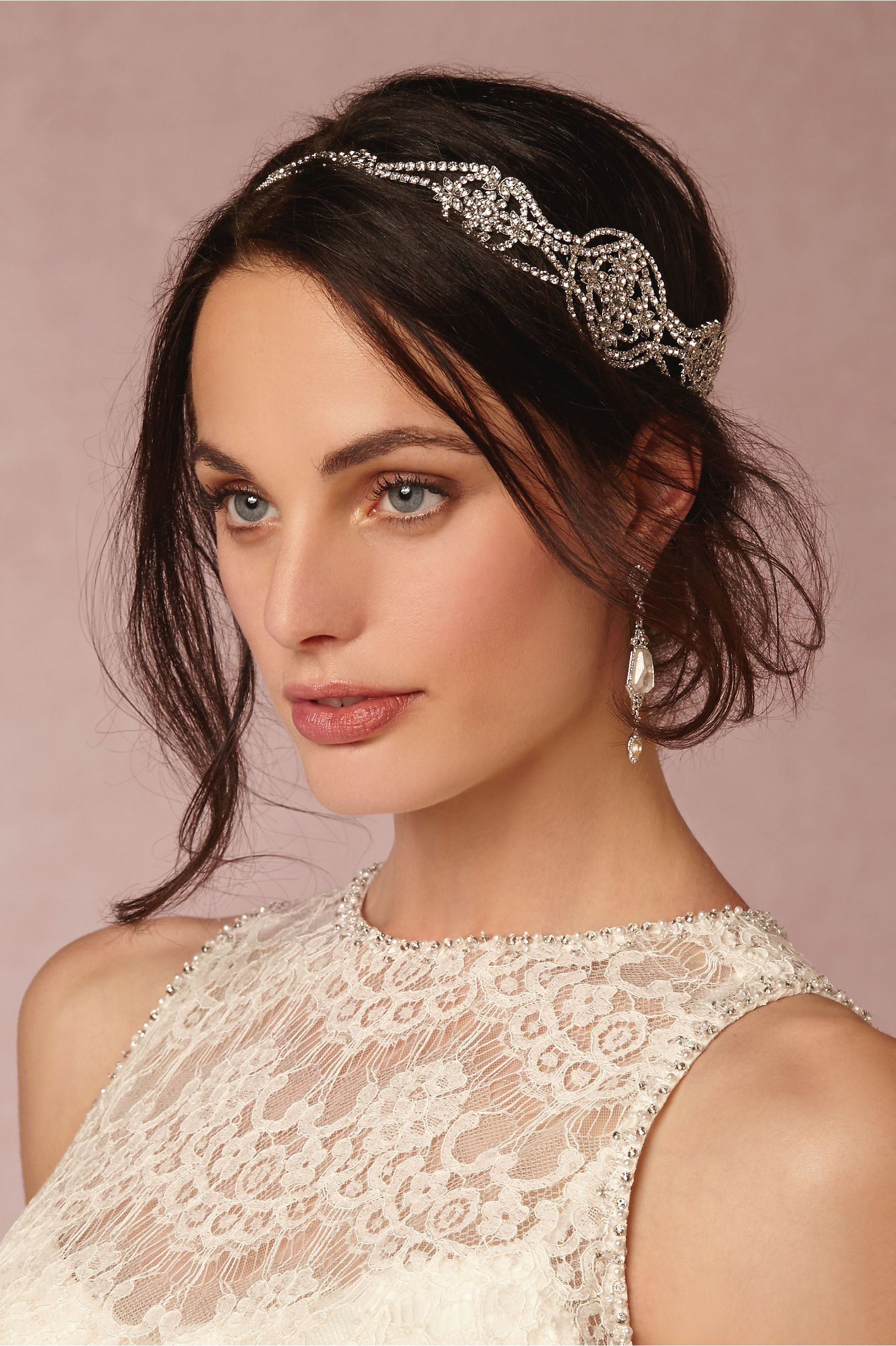 damara halo in shoes & accessories headpieces at bhldn | the bride