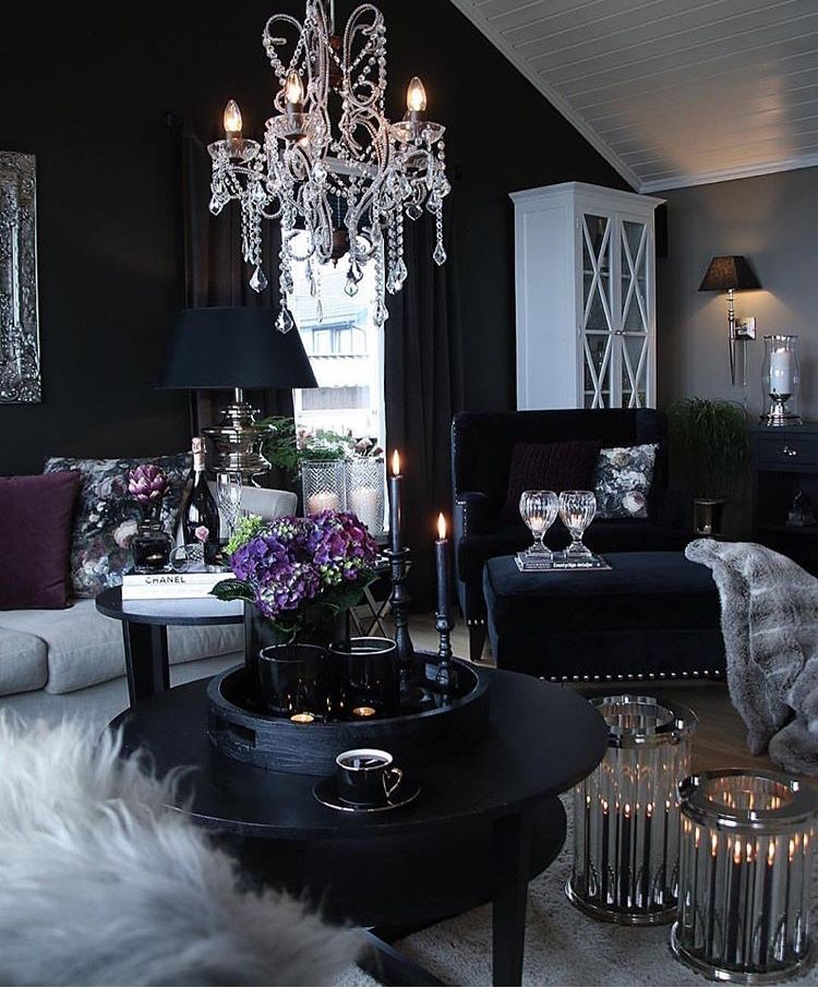 Pin by Sherelle Delisa Mason on Home | Glam living room ...