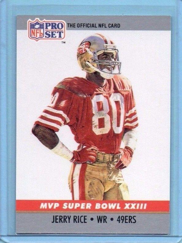 info for 52b0d 62e7d 1990 Pro Set Jerry Rice #23 Super Bowl MVP XXIII San ...